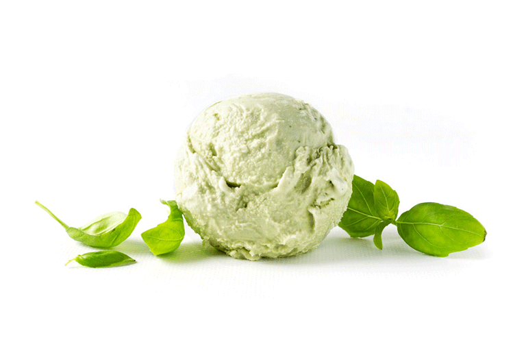 Basil-ice-cream