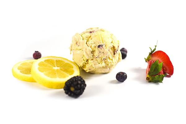 Lemon Berry ice cream