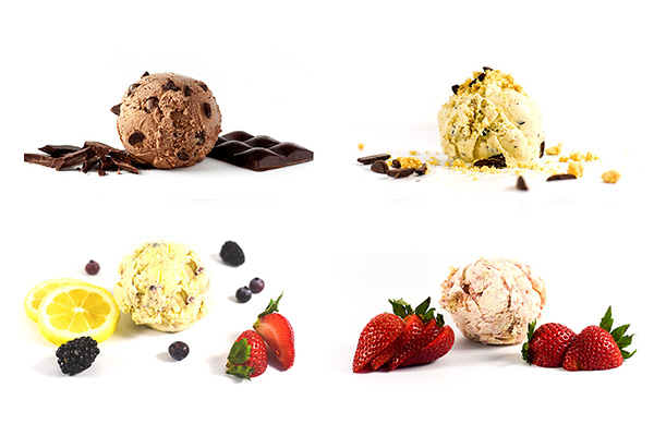 Organic ice cream flavors - nature's organic