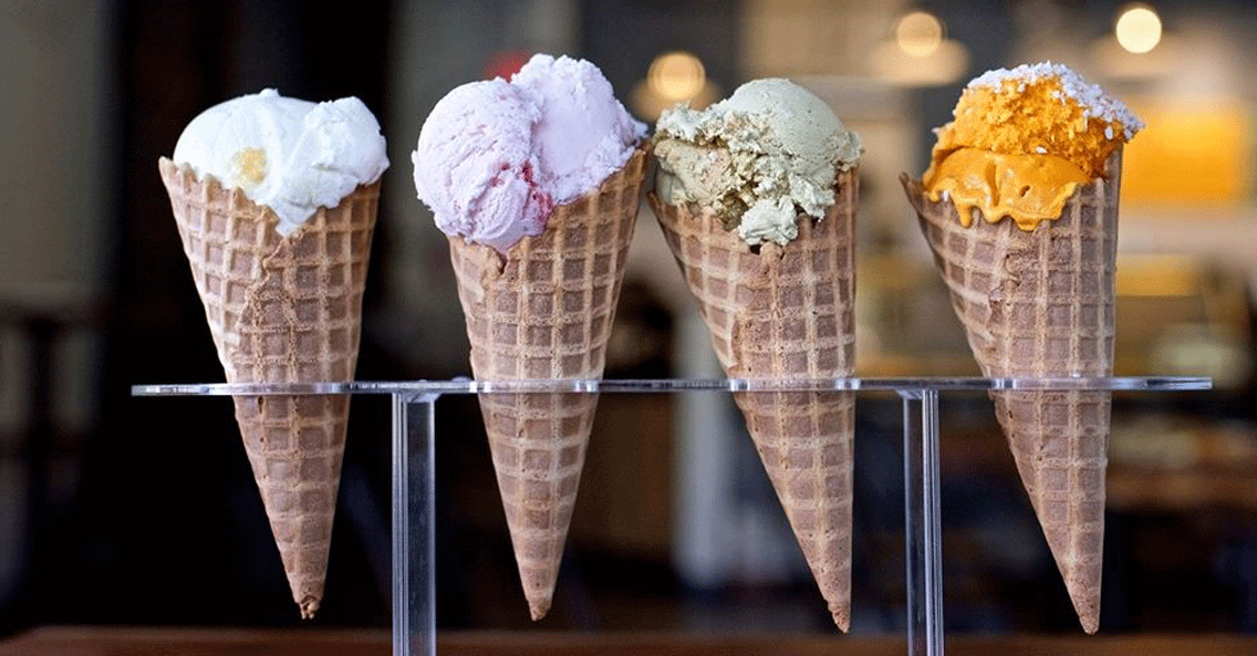 Unique & Natural Ice Cream Flavors You Might Have Never Tasted