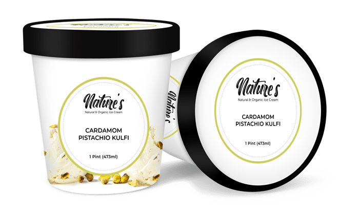 cardamom pistachio kulfi ice cream