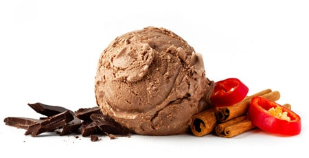 chocolate aztec ice cream