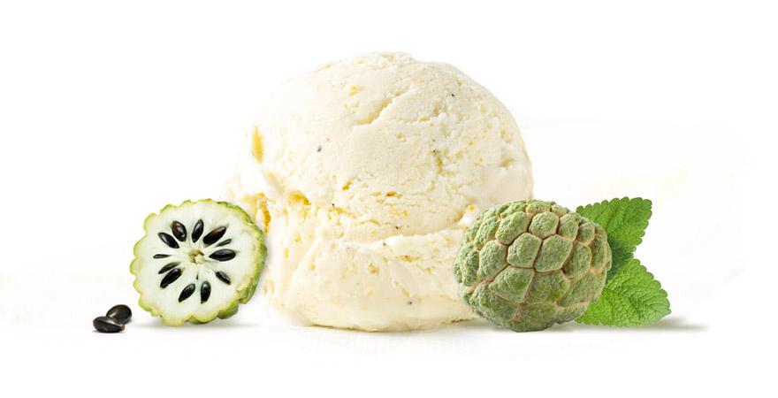 Natural and Tasty Custard Apple Ice Cream (Sitaphal Ice Cream) | Nature's  Organic Ice Cream