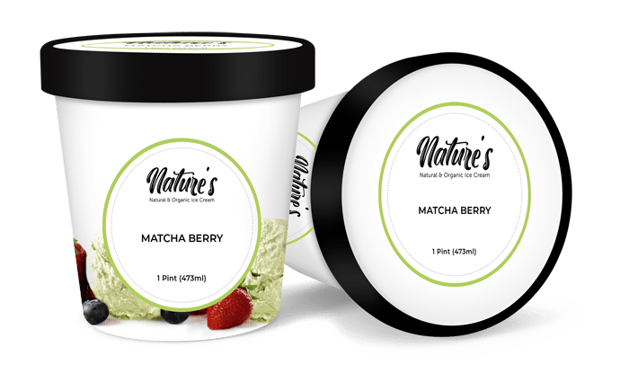 matcha berry 1 ice cream