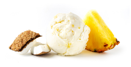 vegan pina colada ice cream