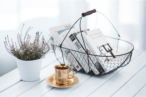 golden cup coffee basket books