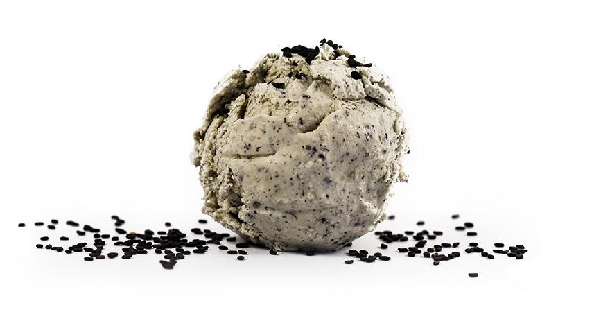 buy organic black sesame ice cream