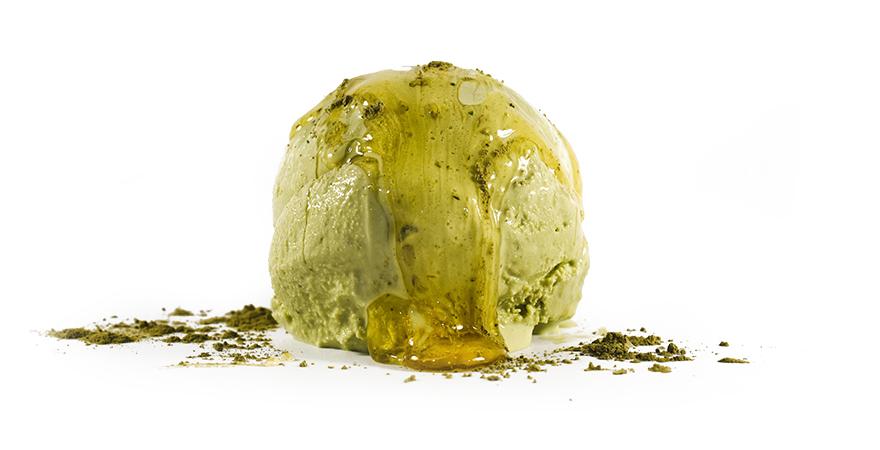 buy organic honey matcha ice cream