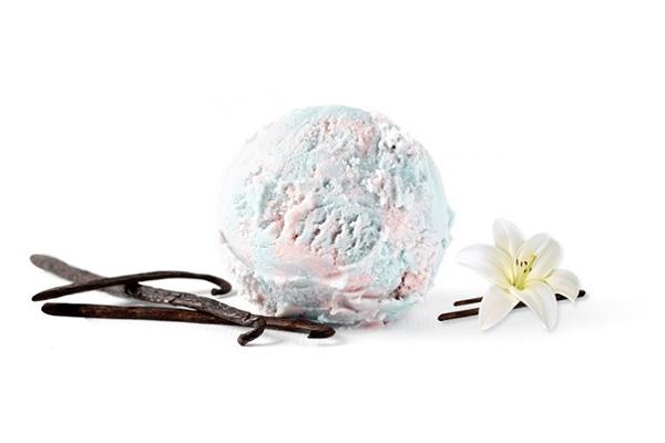 Unicorn Vanilla ice cream