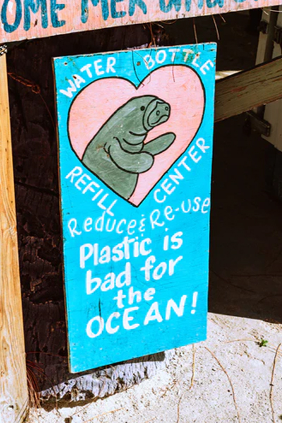 Pass on single-use plastic
