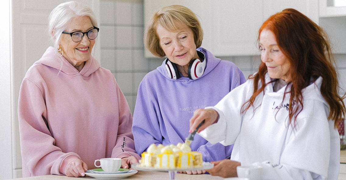 Here's How To Satisfy An Elderly Sweet Tooth