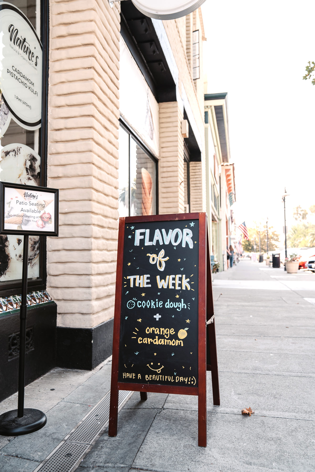Flavor of the week cookie dough - Nature's